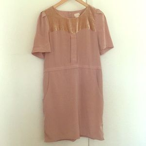 Taupe H&M dress